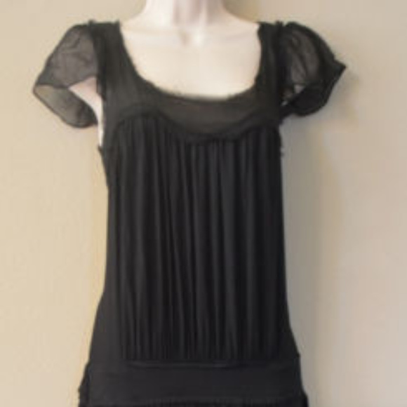 BCBG MAXAZRIA Jersey Knit Dress Black SIZE XS #410 Dresses & Skirts - BCBG MAXAZRIA Jersey Knit Dress Black SIZE XS #410